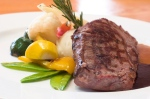 Local Beef Steak with Organic Vegetables