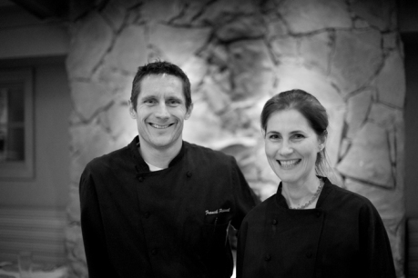Thea and Chef Frank Peissel